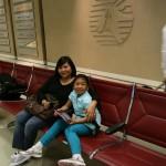 At the Doha International Airport