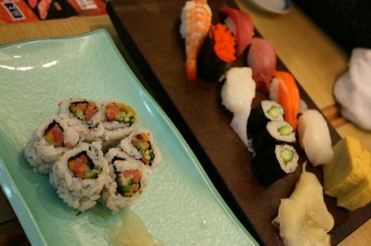 Fantastic Sushi at Sushi Zanmai in Yodobashi Akihabara
