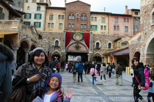 Entering Tokyo DisneySea