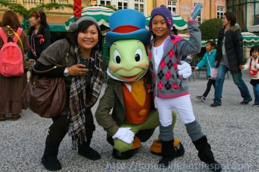 Jiminy Cricket at Tokyo DisneySea