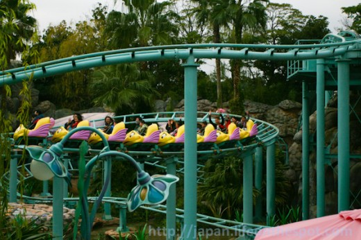 Mavis and Xiane at the end of the coaster