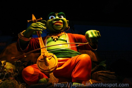 The Ogre in Sinbad's Storybook Voyage