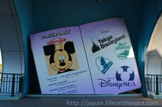 Mickey's Passport