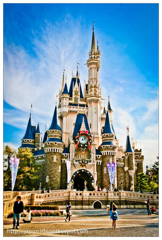 Cinderella S Castle And The Haunted Mansion Life On The Spot A
