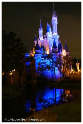Cinderella's Castle in Tokyo Disneyland
