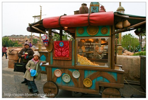 DisneySea's Curry Popcorn